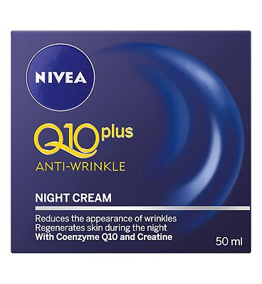 Bargain Nivea Daily Essentials Q10 Plus Anti Wrinkle Night Cream 50ml Stockists