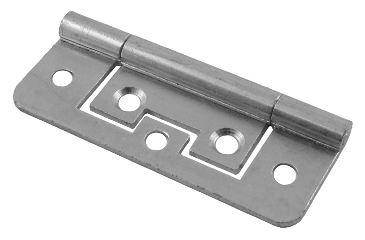 Stockists of No Recess Flush Hinge Bright Zinc Plated In Pairs