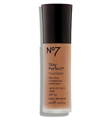 Bargain No7 Stay Perfect Foundation CHESTNUT Stockists