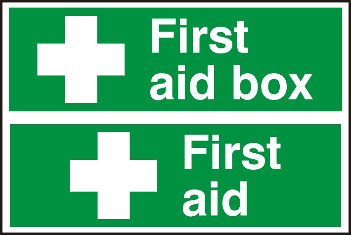 Stockists of Notice First Aid/First Aid Box