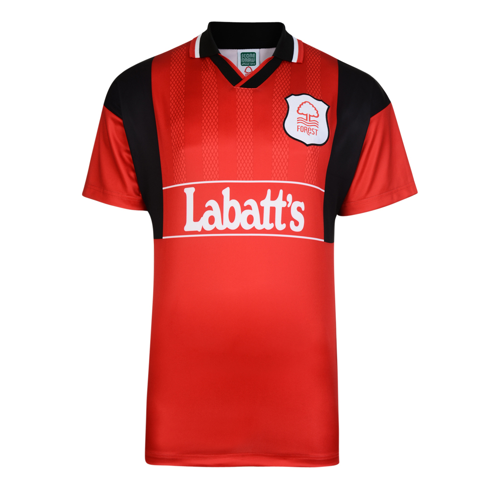 Stockists of Nottingham Forest 1982 Retro Home Football Shirt