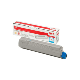 Bargain OKI 43487711 Original Cyan Toner Cartridge Stockists