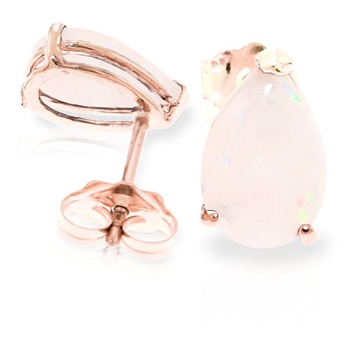 Bargain Opal Stud Earrings 1.55ctw in 9ct Rose Gold Stockists