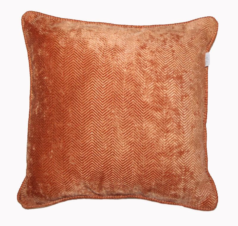 Bargain Orange Emperor Filled Cushion Stockists