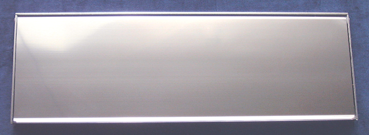 Stockists of Outward Opening Letter Box Polished Anodised 16x5in (406x125mm)