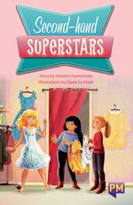 Bargain PM Sapphire: Second hand Superstars (PM Guided Reading Fiction) Level 29 (6 books) Stockists