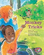 Bargain PM Turquoise: Monkey Tricks (PM Storybooks) Level 17 x 6 Stockists