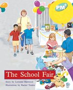 Bargain PM Turquoise: The School Fair (PM Plus Storybooks) Level 18 x 6 Stockists