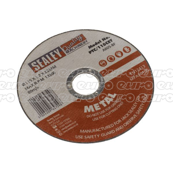 Bargain PTC/115CET Cutting Disc 115 x 1.2 x 22mm Stockists