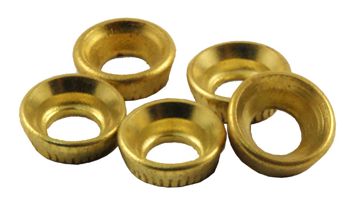 Bargain Pack of 10 Insert Socket Cups Brass Stockists