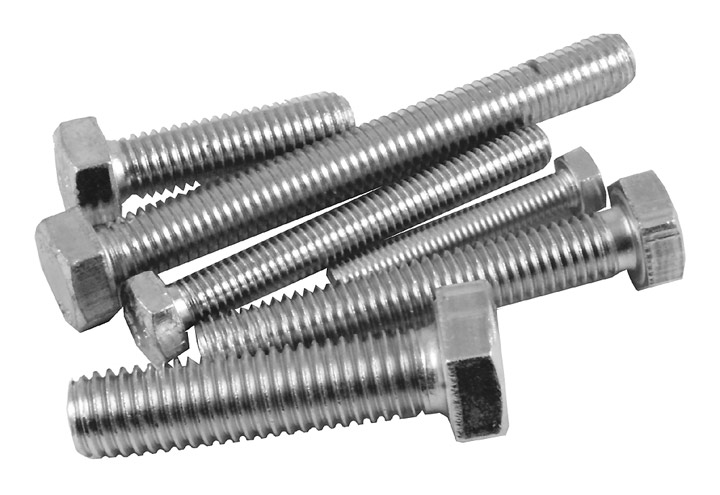 Stockists of Pack of 10 Stainless Hex Head Set Screws