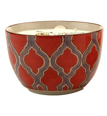 Bargain Paddywax Boheme Hand Painted Ceramic Bowl Candle Passionfruit and Guava 355g Stockists