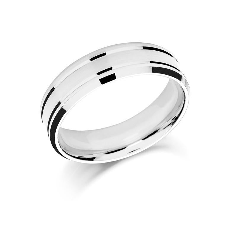Bargain Palladium 7mm Wedding Band Ring Stockists