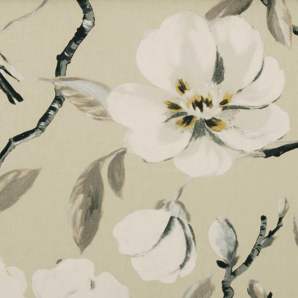 Stockists of Parchment Chinoise Curtain Fabric