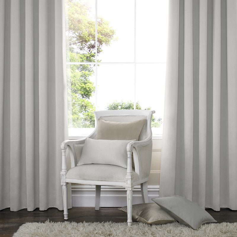 Stockists of Parchment Santos Panama Made to Measure Curtains