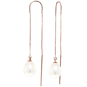 Bargain Pearl Scintilla Briolette Earrings 8.0ctw in 9ct Rose Gold Stockists