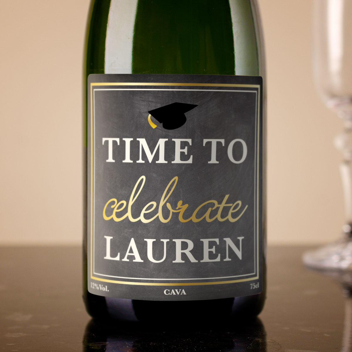 Bargain Personalised Cava - Time To Celebrate Stockists