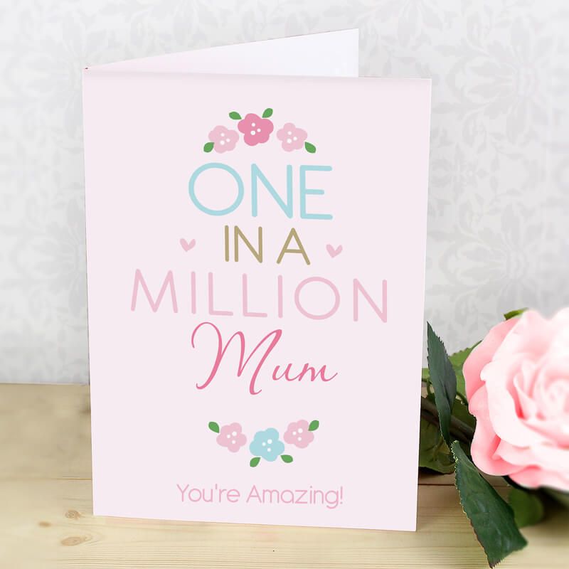 Bargain Personalised One in a Million Card Stockists