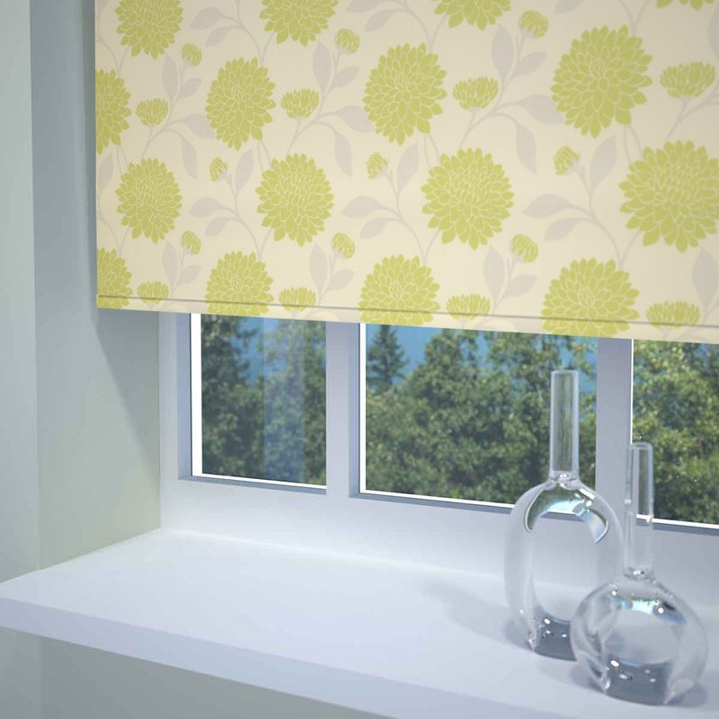 Stockists of Pesto Flourish Roller Blind
