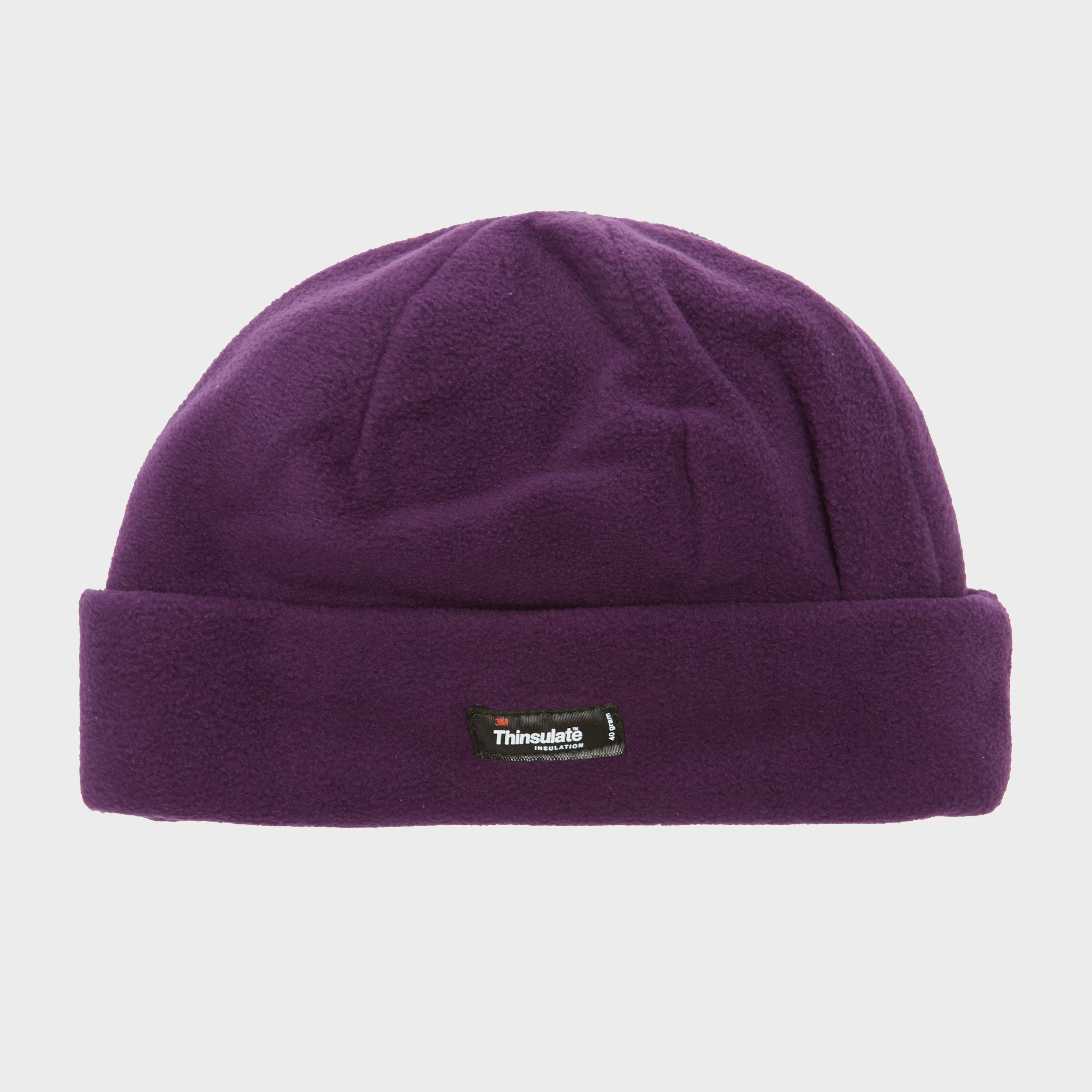 Bargain Peter Storm Thinsulate Fleece Beanie, Purple Stockists