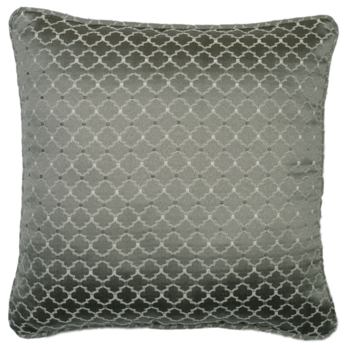 Bargain Pewter Marrakech Filled Cushion Stockists
