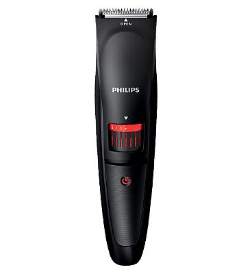 Bargain Philips Beard Trimmer Series 1000 BT405/13 cordless use with adjustable length settings Stockists