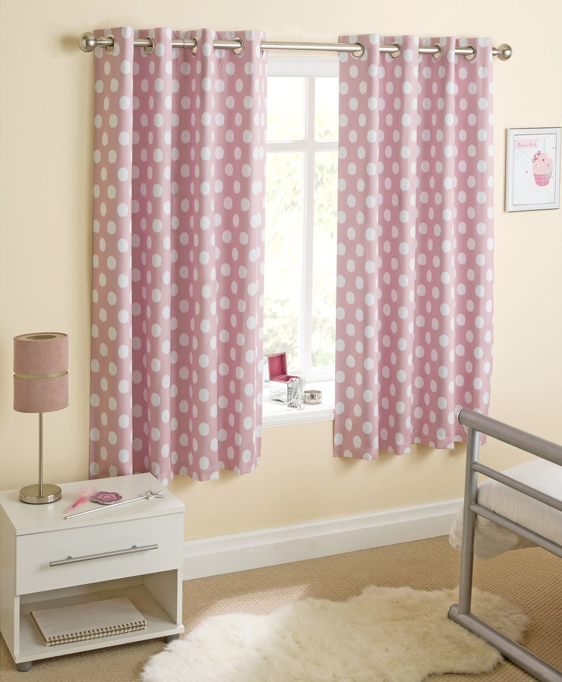Stockists of Pink Eclipse Ready Made Thermal Blackout Eyelet Curtains