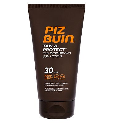 Bargain Piz Buin Tan & Protect Intensifying Sun Lotion SPF 30 150ml Stockists