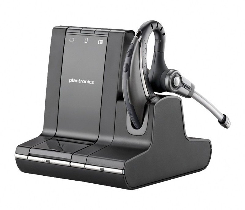 Stockists of Plantronics W730 SAVI Wireless UC UK Over the Ear DECT Headset
