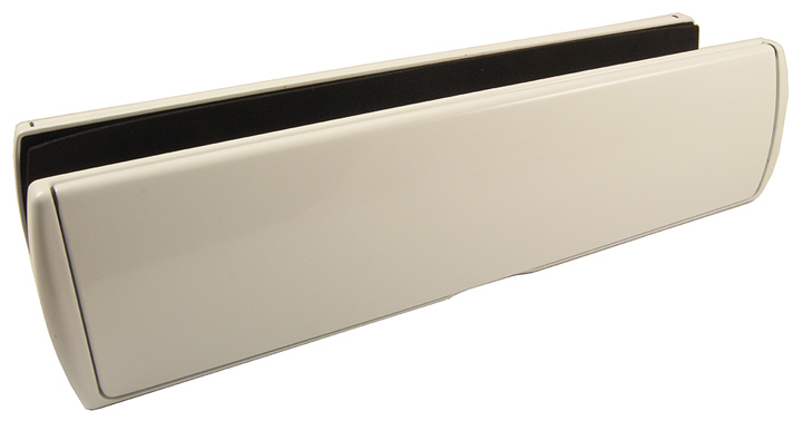 Stockists of Prostyle Telescopic Letter Box White 310x76mm