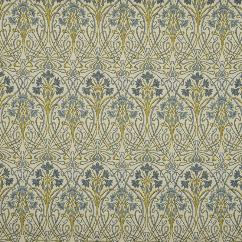 Stockists of Prussian Tiffany Curtain Fabric