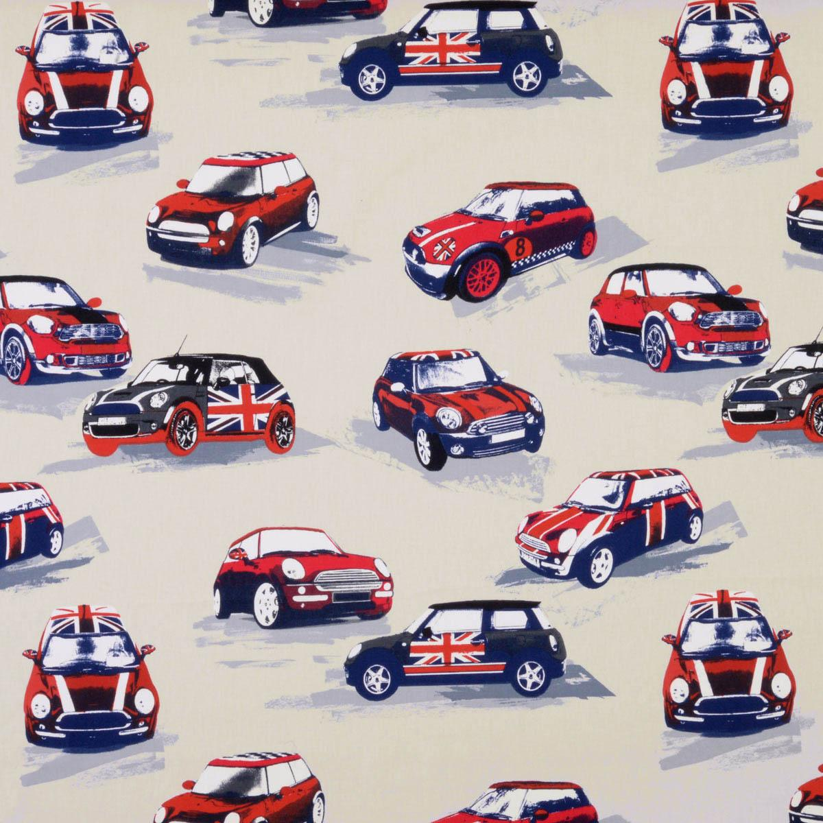 Stockists of Rally Moto Curtain Fabric