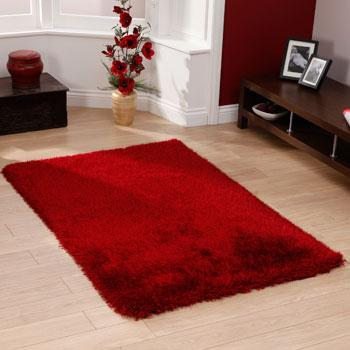 Bargain Red Monte Carlo Rug Stockists