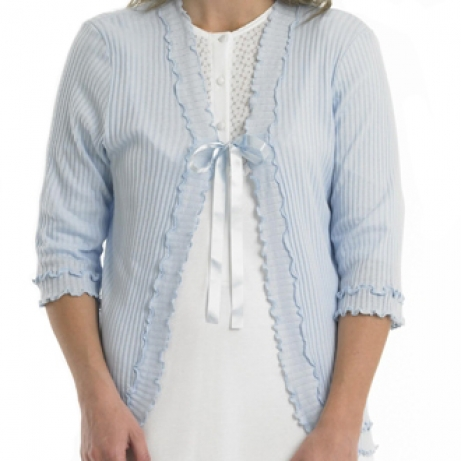 Bargain Ribbon Tie Bedjacket Stockists
