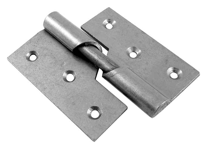Stockists of Rising Door Hinges Mild Steel Right Hand 76mm In Pairs
