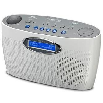 Stockists of Roberts ELISE WHITE DAB Radio with Favourite Station Button in White