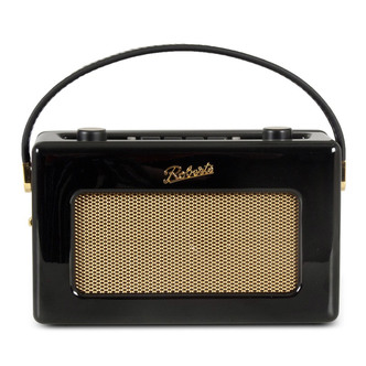 Stockists of Roberts RD60BK Portable DAB FM Radio in Piano Black with RDS