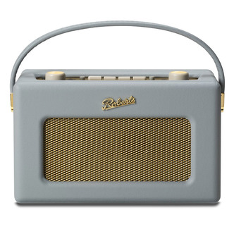 Stockists of Roberts RD60DG Portable DAB FM Radio in Dove Grey with RDS
