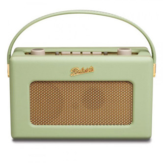 Stockists of Roberts RD60L Portable DAB FM Radio in Leaf with RDS