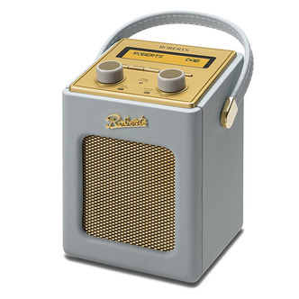 Stockists of Roberts REVIVMINI DG Revival Mini DAB DAB FM RDS Radio w Charger Dove