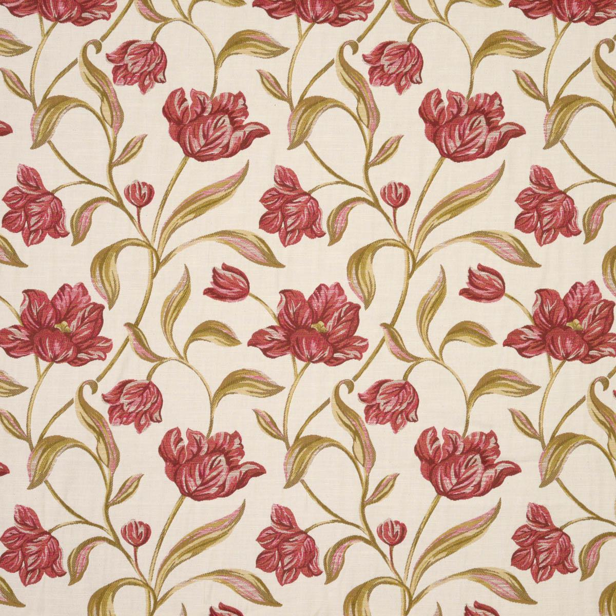 Stockists of Rouge Gabriella Curtain Fabric