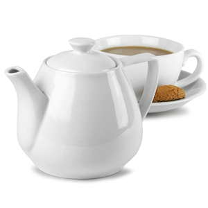 Bargain Royal Genware Contemporary Teapot 15.3oz / 450ml (Pack of 6) Stockists
