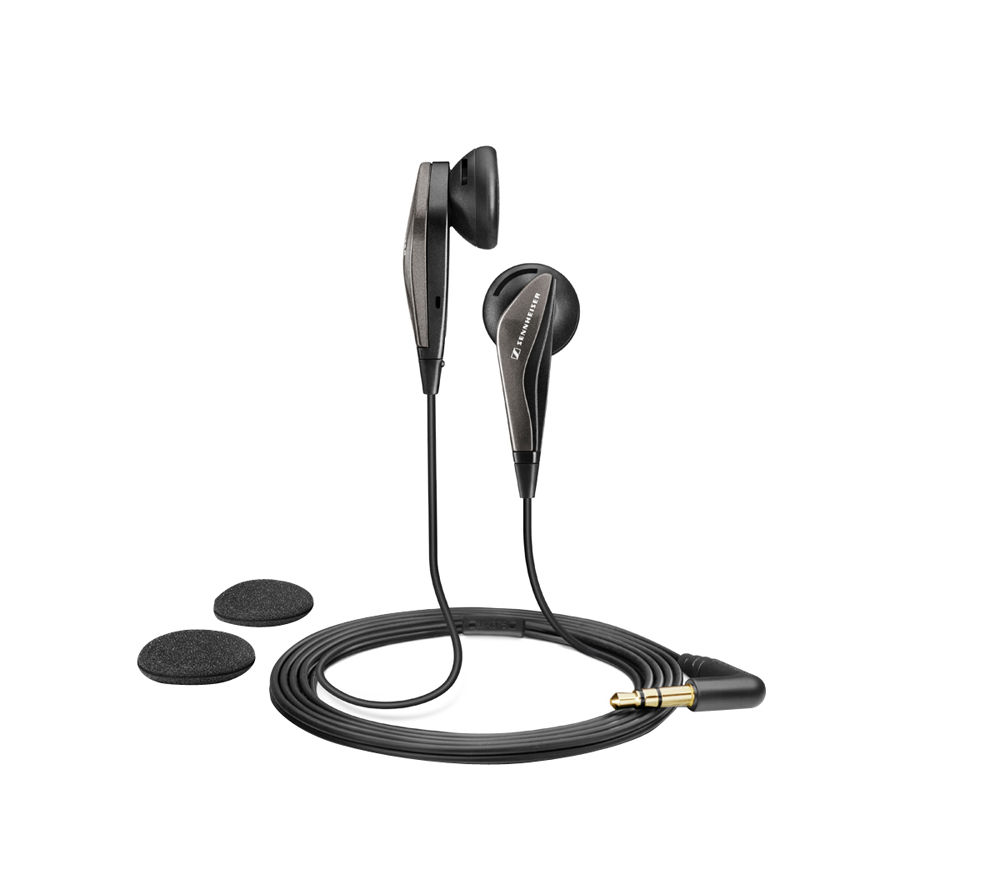 Stockists of SENNHEISER MX 375 Headphones - Black, Black