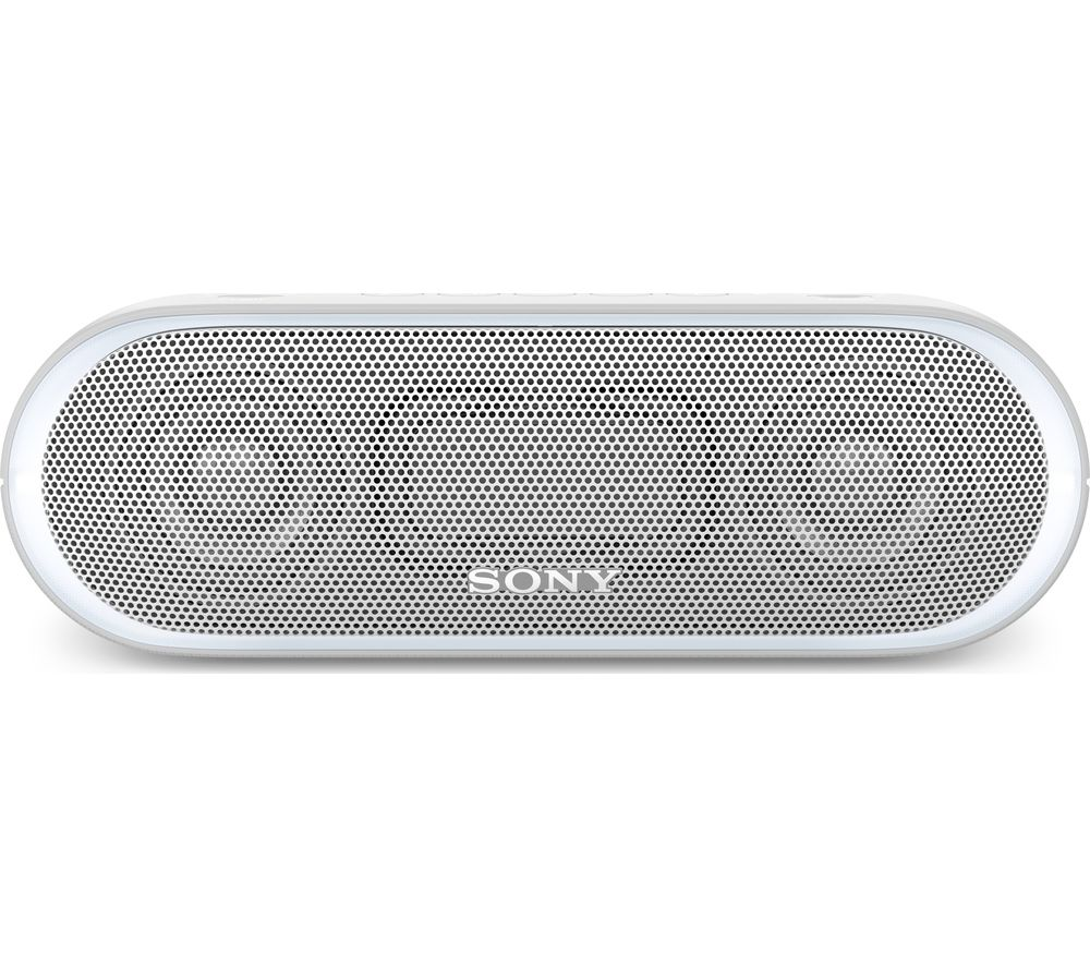 Bargain SONY EXTRA BASS SRS-XB20 Portable Bluetooth Wireless Speaker - White, White Stockists