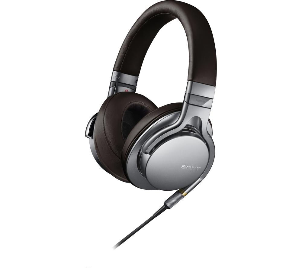 Bargain SONY MDR-1AS Headphones - Silver, Silver Stockists