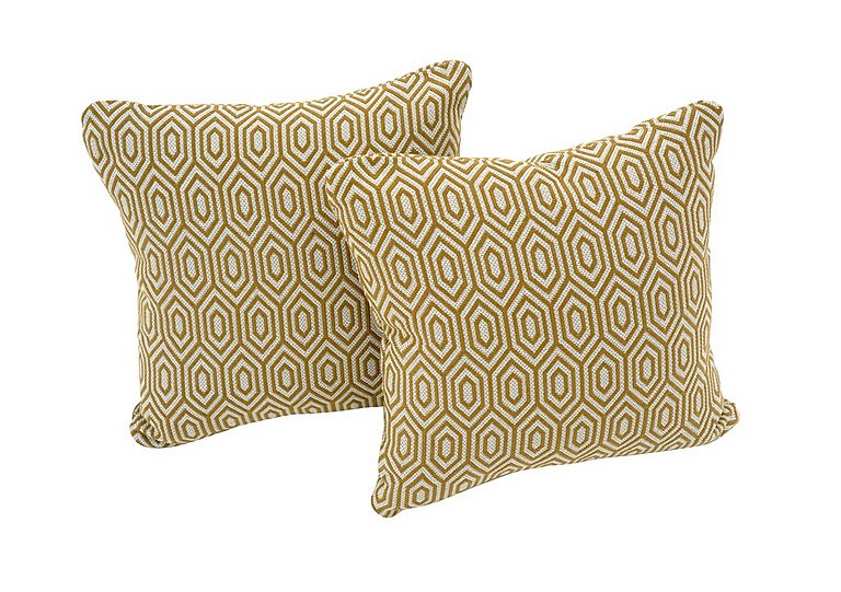 Bargain Sahara Pair of Fabric Scatter Cushions Stockists