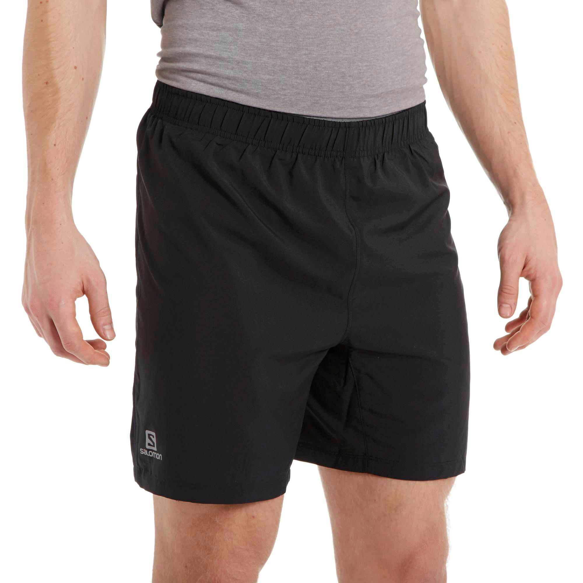 Stockists of Salomon Men's Trail Shorts, Black