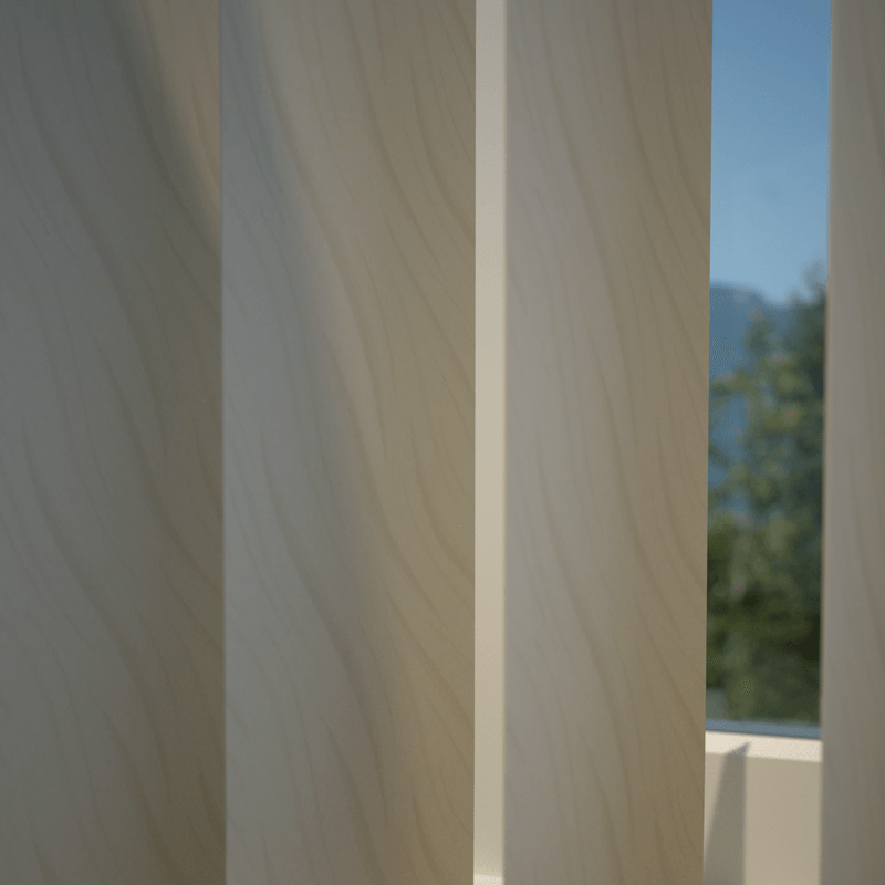 Stockists of Sand Tide Vertical Blind