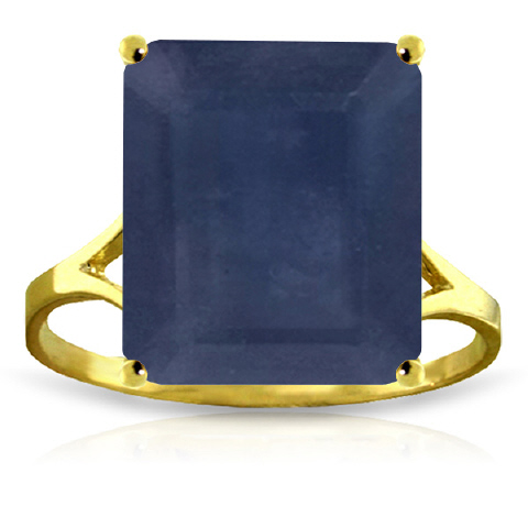 Bargain Sapphire Ring 7.0ct in 9ct Gold Stockists