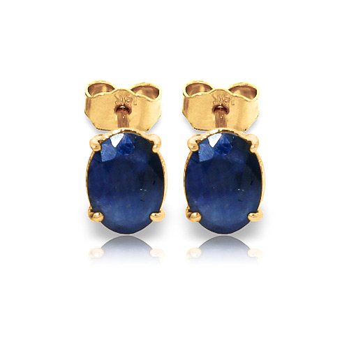 Bargain Sapphire Stud Earrings 2.0ctw in 9ct Gold Stockists